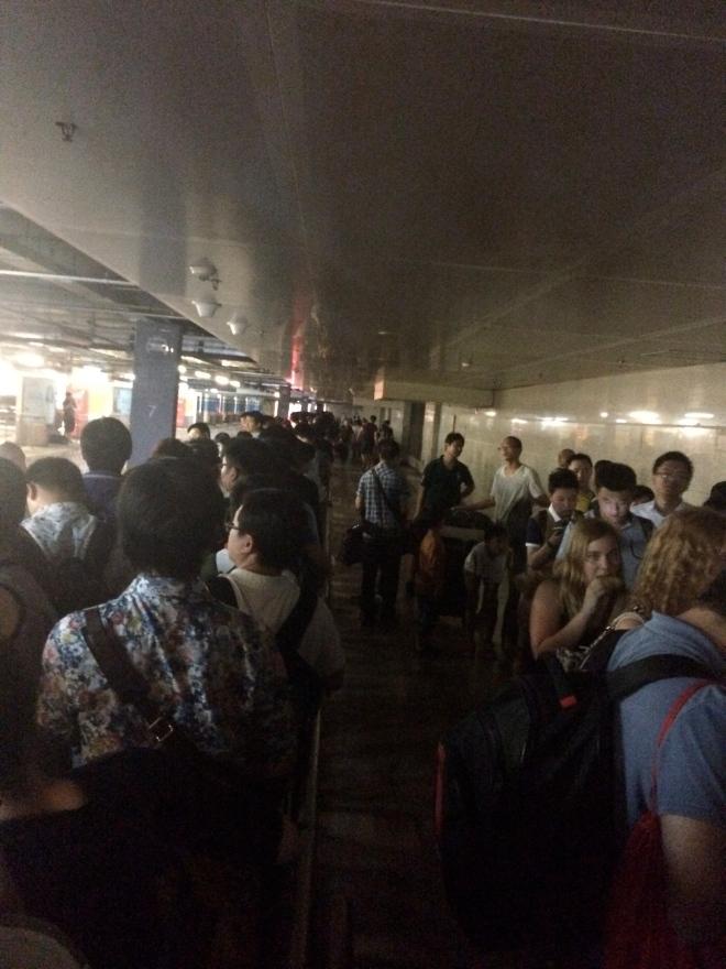 The never ending taxi queue